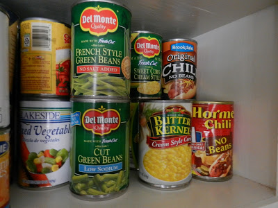 Day 13: Cleaning Out Your Canned Food