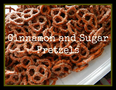 Tasty Cinnamon and Sugar Pretzels
