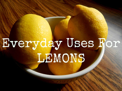 Simple Uses For Everday Items: Lemons