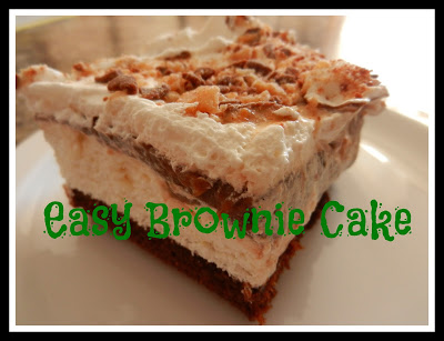 Easy Brownie Cake