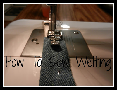 How To Sew Welting