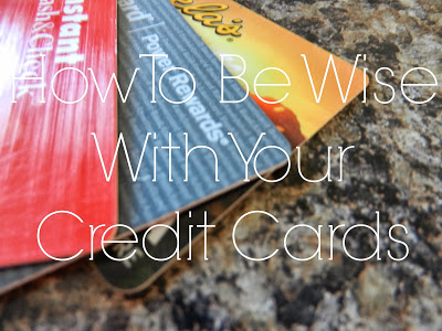 Spend Wisely With A Credit Card