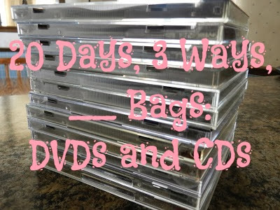 20 Days, 3 Ways, __ Bags: DVDs and CDs