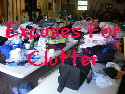 8 Excuses We Make For Clutter