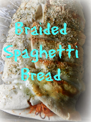 Braided Spaghetti Bread