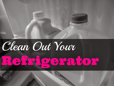 Clean Out Refrigerator