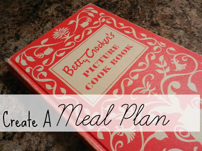 Start Each Week With A Meal Plan
