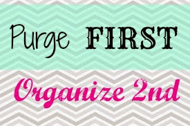 New Year, New YOU: Tip #5 – Purge FIRST