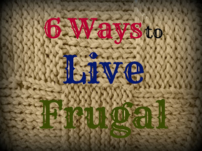 Living Frugal