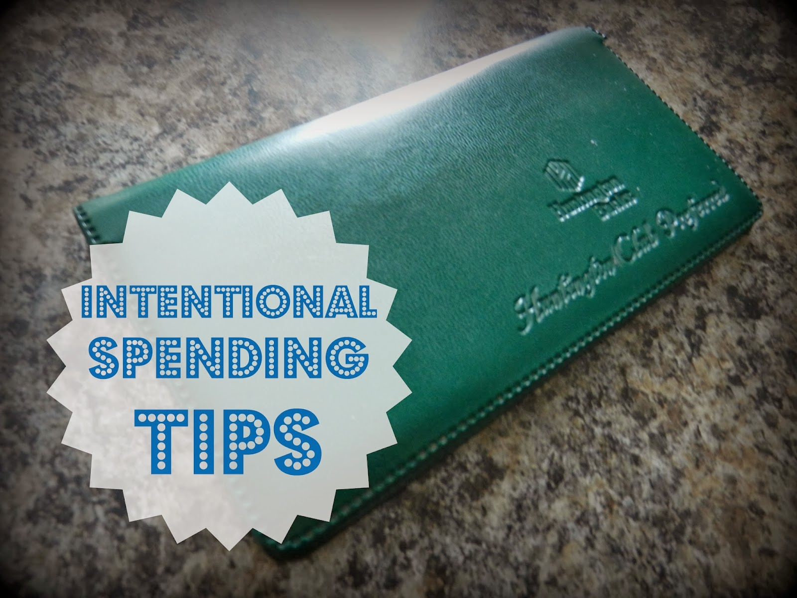 Intentional Spending Tips
