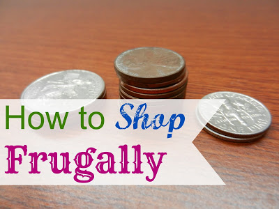 How to Shop Frugally