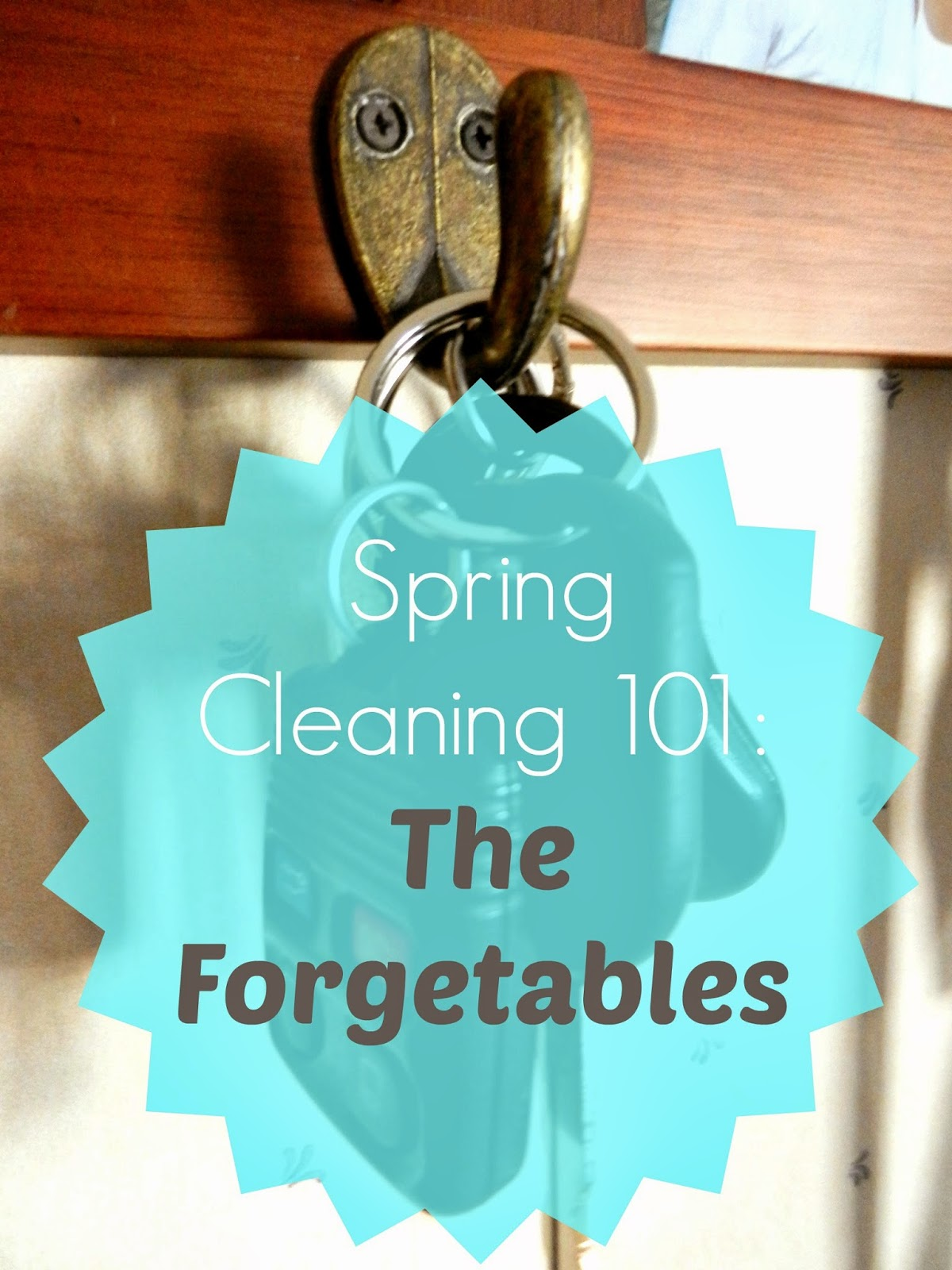 Spring Cleaning 101: The Forgetables