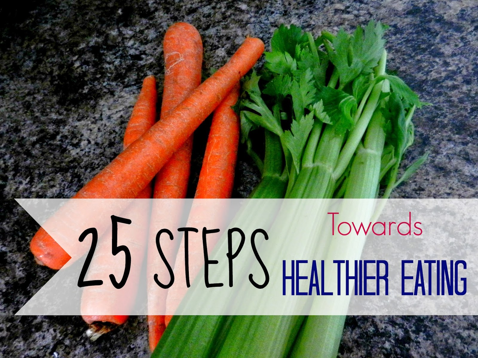 25 Steps Towards Healthier Eating