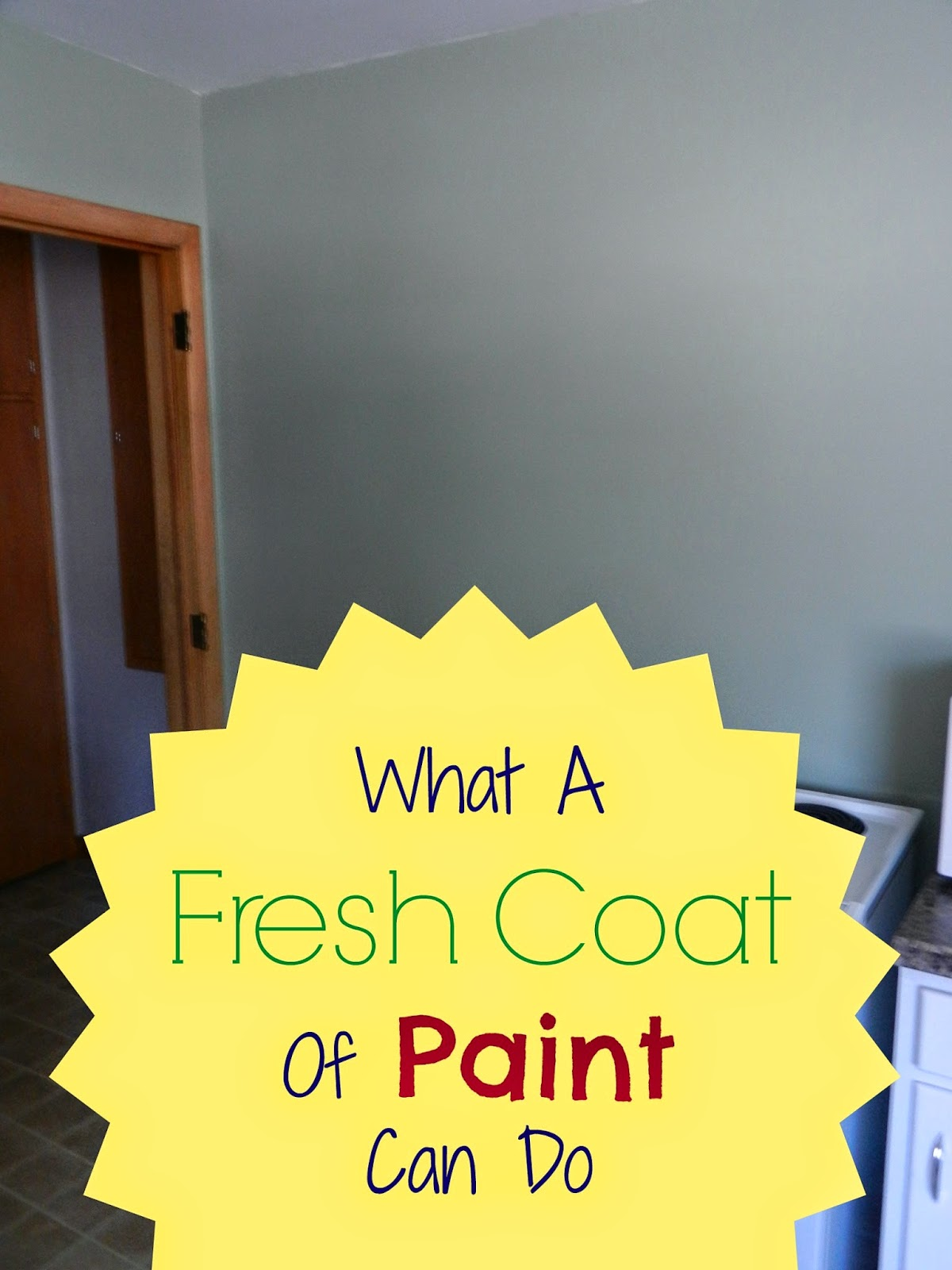 What A Fresh Coat Of Paint Can Do