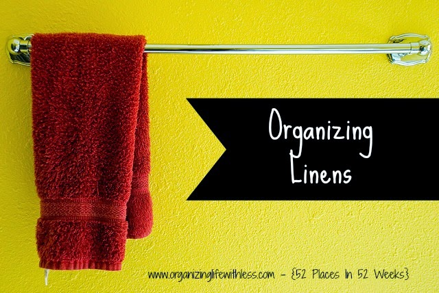 52 Places In 52 Weeks: Linens