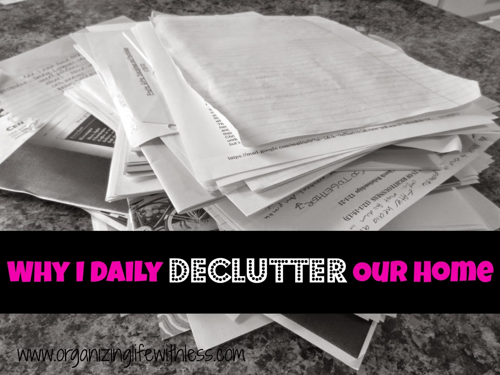 Why I Daily Declutter Our Home