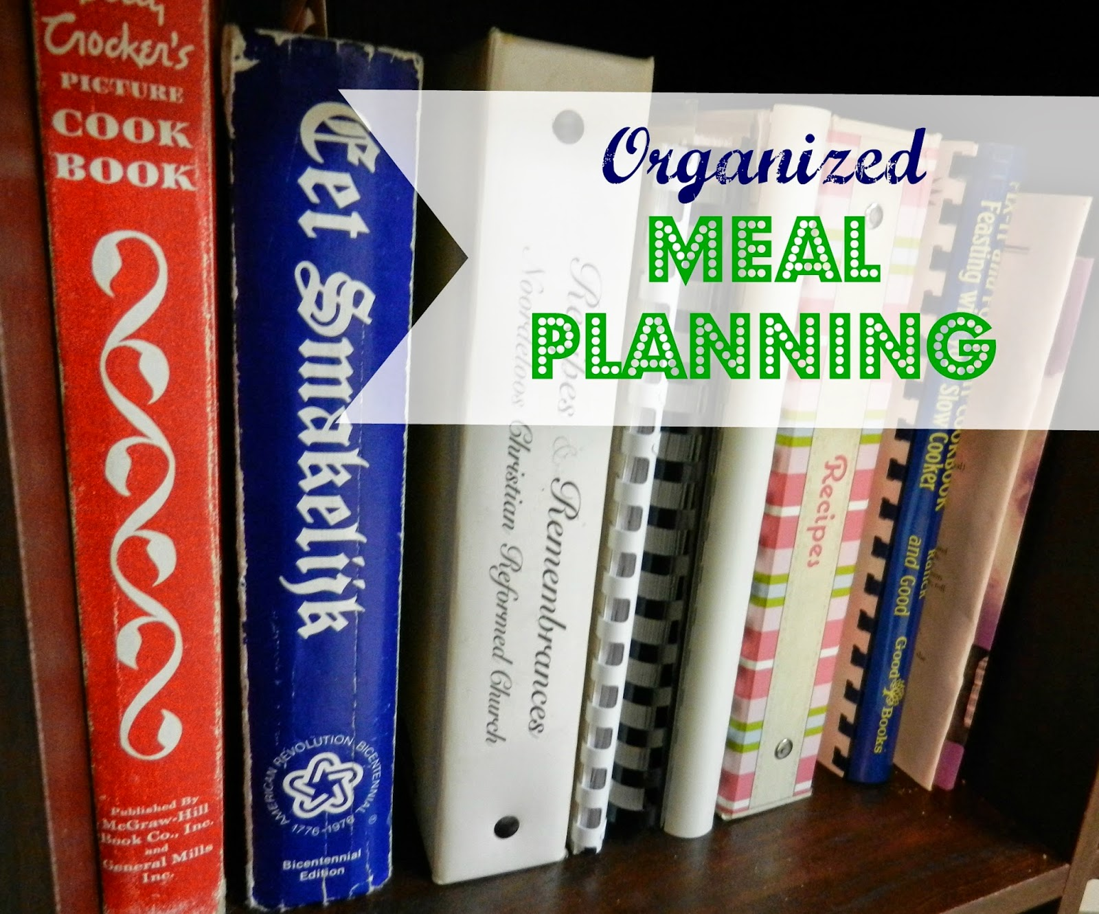 52 Places In 52 Weeks: Organized Meal Planning