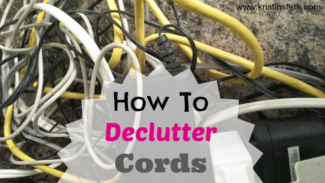 How To Declutter Cords + Giveaway!