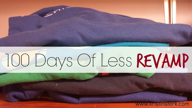 100 Days Of Less REVAMP