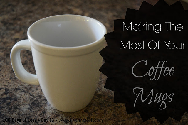 Making The Most Of Your Coffee Mugs – Day 13