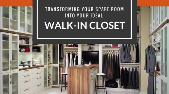 Transforming Your Spare Room Into Your Ideal Walk-In Closet