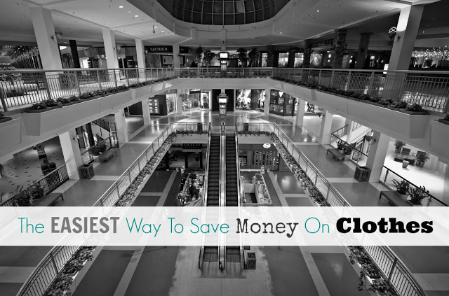 The Easiest Way To Save Money On Clothes
