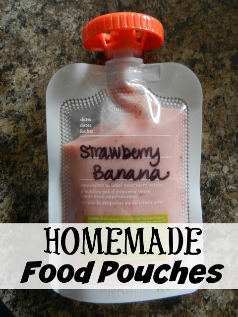 Homemade Food Pouches
