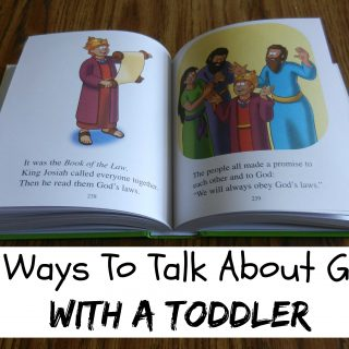 5 Ways To Talk About God With A Toddler