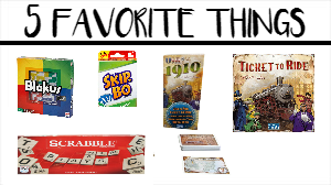 My 5 Favorite Things On Friday – Edition #7
